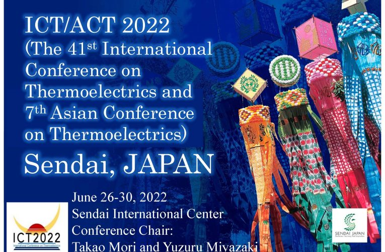 41st International Conference on Thermoelectrics – ICT/ACT2022